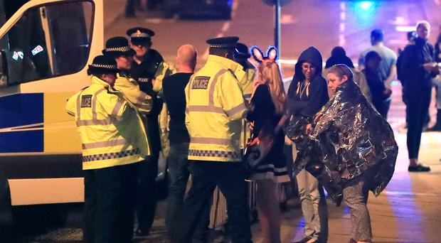 Ariana Grande's mother escorted fans to safety after Manchester blast