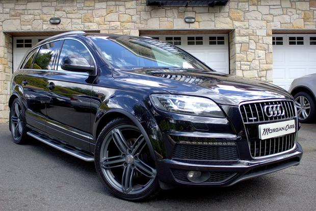 Rory McIlroy once owned this Audi Q7 which is now for sale. [Photo: Morgan Cars 20/05/17]