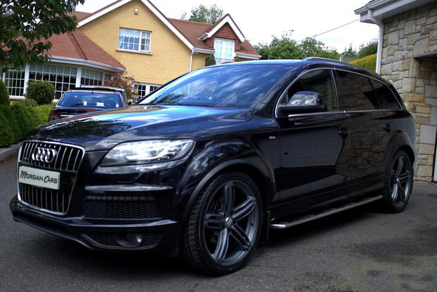 The Audi Q7 which once belonged to Rory McIlroy is being sold by Warrenpoint dealership Morgan Cars [Photo: F Morgan of Morgan Cars 20/05/17]