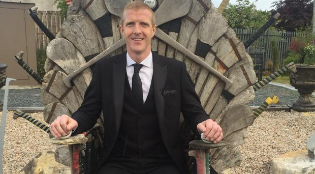 Henry Shefflin was a guest at Eoghan Ruadh's grand opening