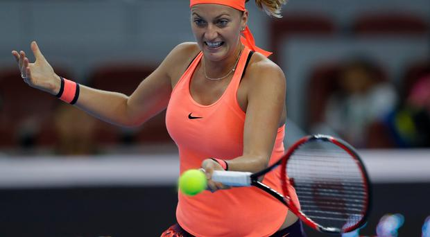 Comeback trail: Petra Kvitova could return at the French Open