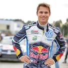 Drafted in: Andreas Mikkelsen will take to the Sardinia track