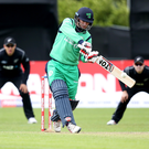 Hitting back at critics: William Porterfield has given support to under-fire coach John Bracewell, and confirmed he wants to stay on as Ireland captain