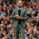 Stunned: Pep Guardiola's wife and kids were at the concert