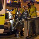 Scenes outside the Manchester Arena following the atrocity that left 22 concert-goers dead and more than 50 injured, many seriously