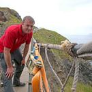 Vandals attempted to cut the rope at Carrick-a-Rede. PICTURE STEVEN MCAULEY/MCAULEY MULTIMEDIA