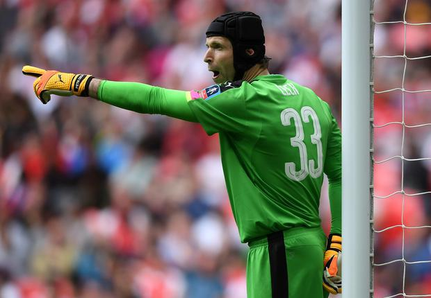 To the point: Petr Cech is set to start the FA Cup final against Chelsea. Photo: Mike Hewitt/Getty Images