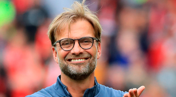 Waiting game: Jurgen Klopp knows Pool cannot rush into the market. Photo: Peter Byrne/PA