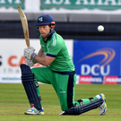 Mission: Ed Joyce is eager to play Test cricket for Ireland