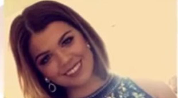 Sarah Harkin from Derry walked through the foyer at Manchester Arena just seconds before a suicide bomber detonated his device on Monday night. [Photo: BBC 25/05/2017]