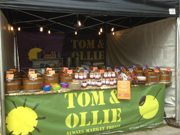 Tom & Ollie are among the top Northern Ireland-based stalls at this year's Spring Market.
