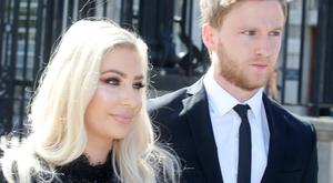 Laura Lacole and Eunan O'Kane arrive at the High Court. Picture by Jonathan Porter/PressEye.com