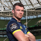 Keeping cool: Peter O'Mahony will keep emotions in check