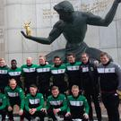 Now and then: the Glentoran class of 2017 in Detroit