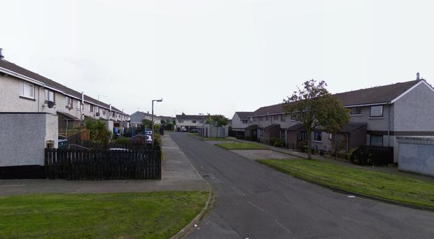 General view of Rathmore Gardens area of Antrim (Image: Google Streetview)