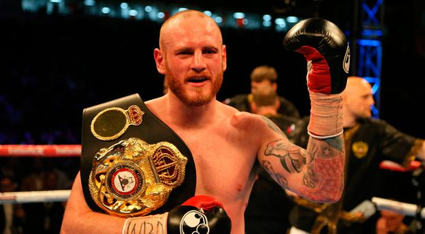 Champion: George Groves won the vacant WBA title. Photo: Richard Sellers/PA