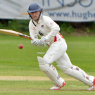 In form: Adam Dennison heads North West with the Knights after scoring 95 for Waringstown
