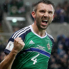 Inspirational: Northern Ireland and WBA's Gareth McAuley. Photo: Brian Little/Presseye