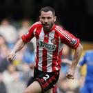 Praise: Phil Bardsley is a big fan of Jonny Evans' talent. Photo: Dean Mouhtaropoulos/Getty Images