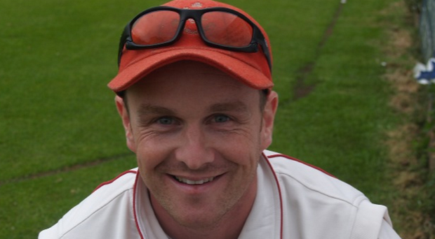 In vain: Niall McDonnell took three wickets for Brigade