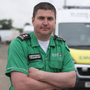 Skilled support: Barry Rowan volunteers with St John Ambulance