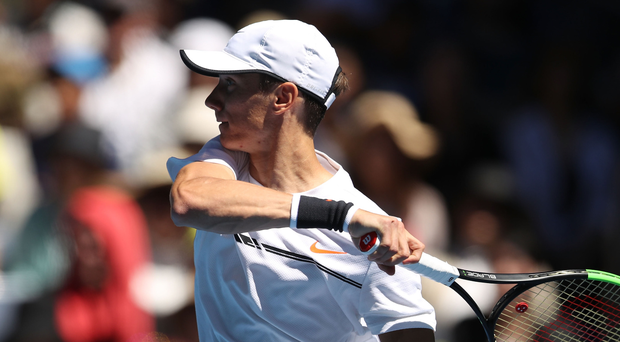 Upbeat: Andrey Kuznetsov is confident of testing Andy Murray
