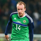 Cap fits: Liam Boyce is set to add to his NI caps collection