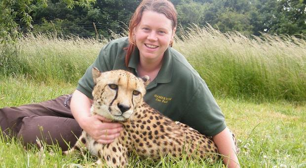 Rosa King, a keeper at Hamerton Zoo, was killed by a tiger in a 'freak accident' on Monday.