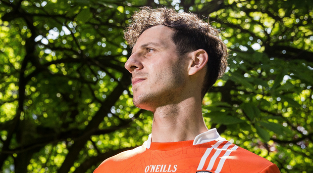 Fired up: Jamie Clarke believes the mood could not be better within the Armagh camp just now