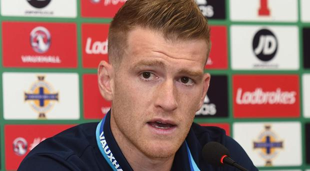 Crunch time: Steven Davis knows key games are looming