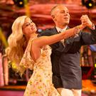 Fame game: Judge Robert Rinder with Oksana Platero on Strictly Come Dancing