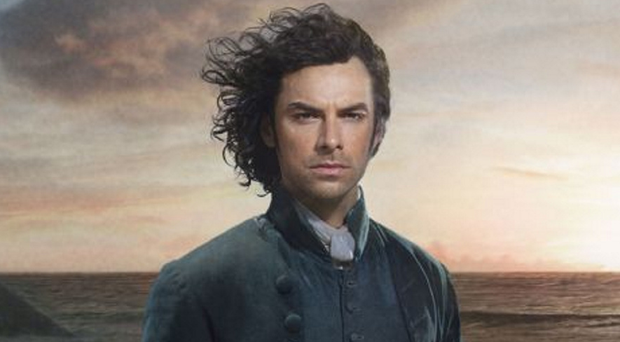 Ross's return: Aidan Turner is back on our screens as Poldark later this month