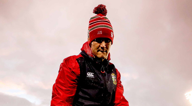 Fighting fit: Jonathan Sexton bids to hold onto the number 10 slot for the Lions' tour under stiff competition from Farrell and Biggar