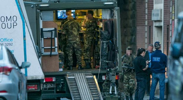 Dublin explosives were destined for use in Northern Ireland