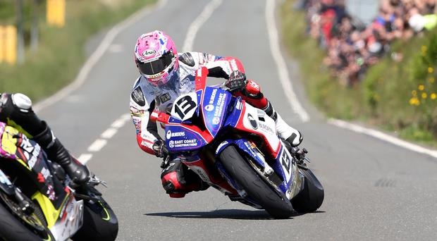 Northern Ireland's Lee Johnston pictured at the Isle of Man TT Practice Week [Photo: Philip Magowan / PressEye]