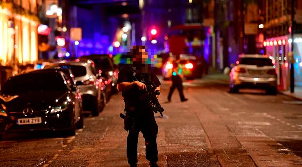 London police report 'incident' on London Bridge