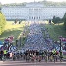 Press Eye - Giro d'Italia Gran Fondo 2017 - 7am Mourne Route Start - Stormont Estate - 4th June 2017 Photograph by Declan Roughan