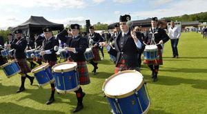 The UK Pipe Band Championships take place in Belfast this weekend.