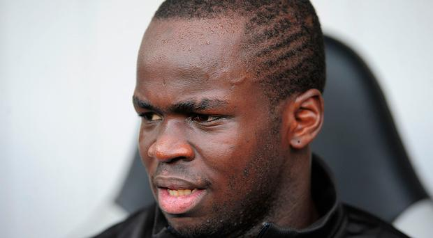 File photo dated 11-09-2010 of Cheick Tiote, Newcastle United. PA