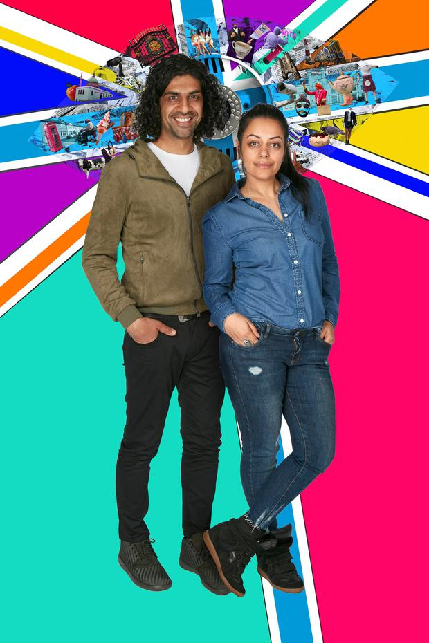 Childhood sweethearts Imran and Sukhvinder Javeed, of Leeds, join the show after saying how their different backgrounds meant their relationship was initially frowned upon. (Channel 5/PA Wire)