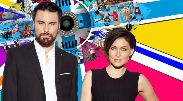 Big Brother presenters Rylan Clark-Neal and Emma Willis (Channel 5 /PA Wire)