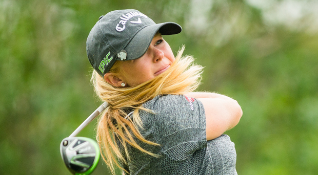 Major ambition: Stephanie Meadow qualified for the US Open. Photo: Darren Carroll/Getty Images