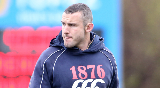 Fresh face: Aaron Dundon is Ulster's new scrum coach. Photo: Gary Carr/INPHO