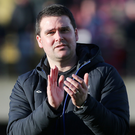 Linfield manager David Healy. Photo: Jonathan Porter/Presseye