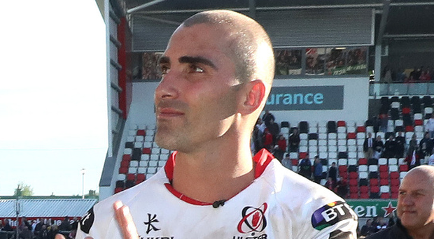 Missing Ulster: Ruan Pienaar heading for Montpellier. Photo: Declan Roughan