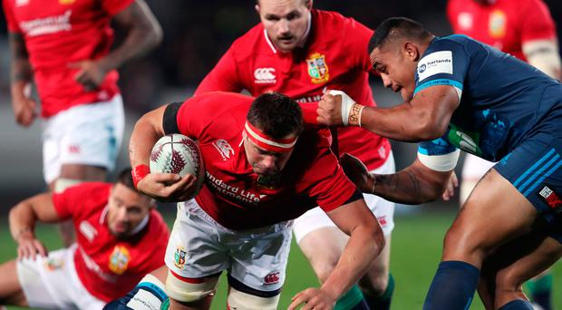 Consolation: CJ Stander scored a maul try for the Lions. Photo: David Davies/PA