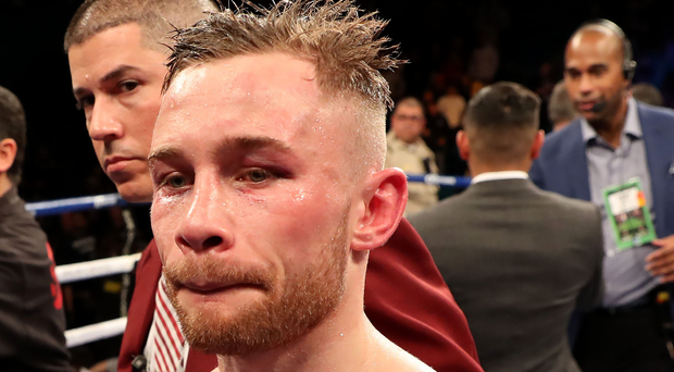 Homing in: Carl Frampton will fight in Belfast next month. Photo: William Cherry/Presseye