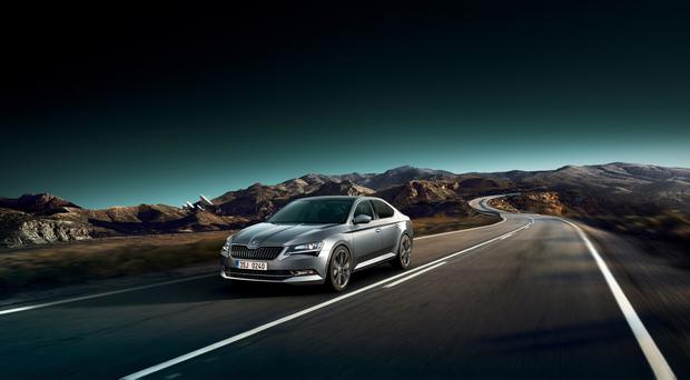 Skoda's Superb family saloon has been given a new range of infotainment systems.