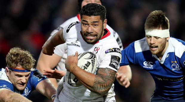 Charles Piatau and his Ulster team-mates will be hoping for better in next season's Champions Cup. Photo: Billy Stickland/INPHO