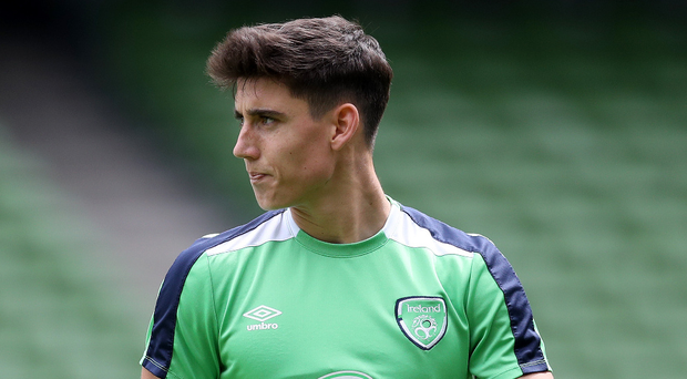 Clear aims: Callum O'Dowda is keen to impress and cement his place as a Republic of Ireland international